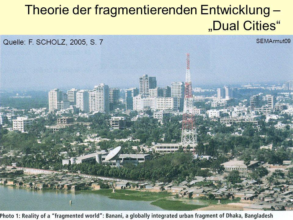 Ungleichverteilung der Vermögen Quelle: H. Creutz 2001, S. 35 Nach N. GELBMANN, 2002 SEMArmut10