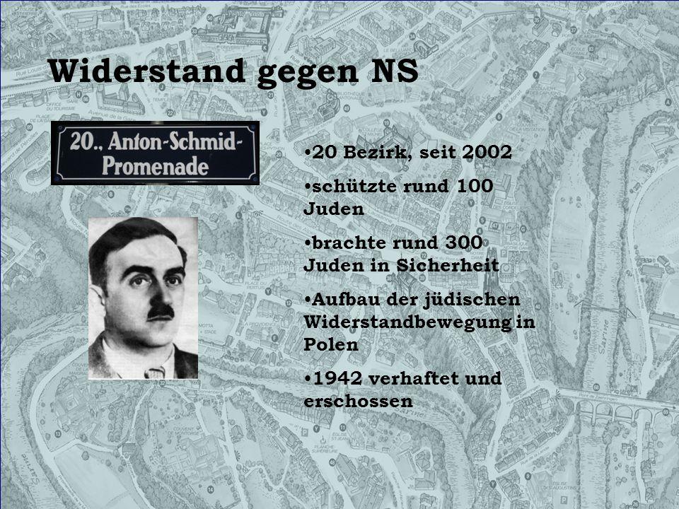 Widerstand gegen NS 20 Bezirk, seit 2002 schützte rund 100 Juden brachte rund 300 Juden in Sicherheit Aufbau der jüdischen Widerstandbewegung in Polen