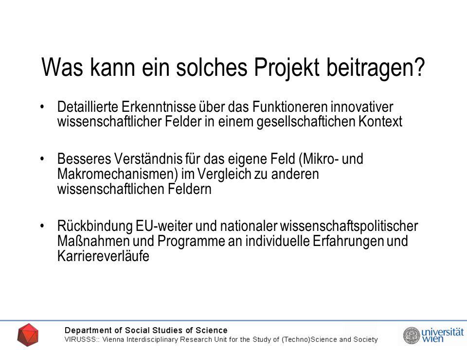 20.03.2006 Kontakt Projektleitung: Univ.Prof.Dr.