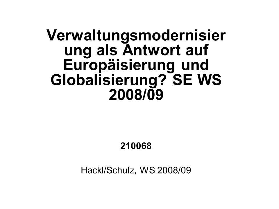 Themen, Literatur für Sa 13.12.2008 Zum schwierigen Verhältnis zwischen Politik und Verwaltung.