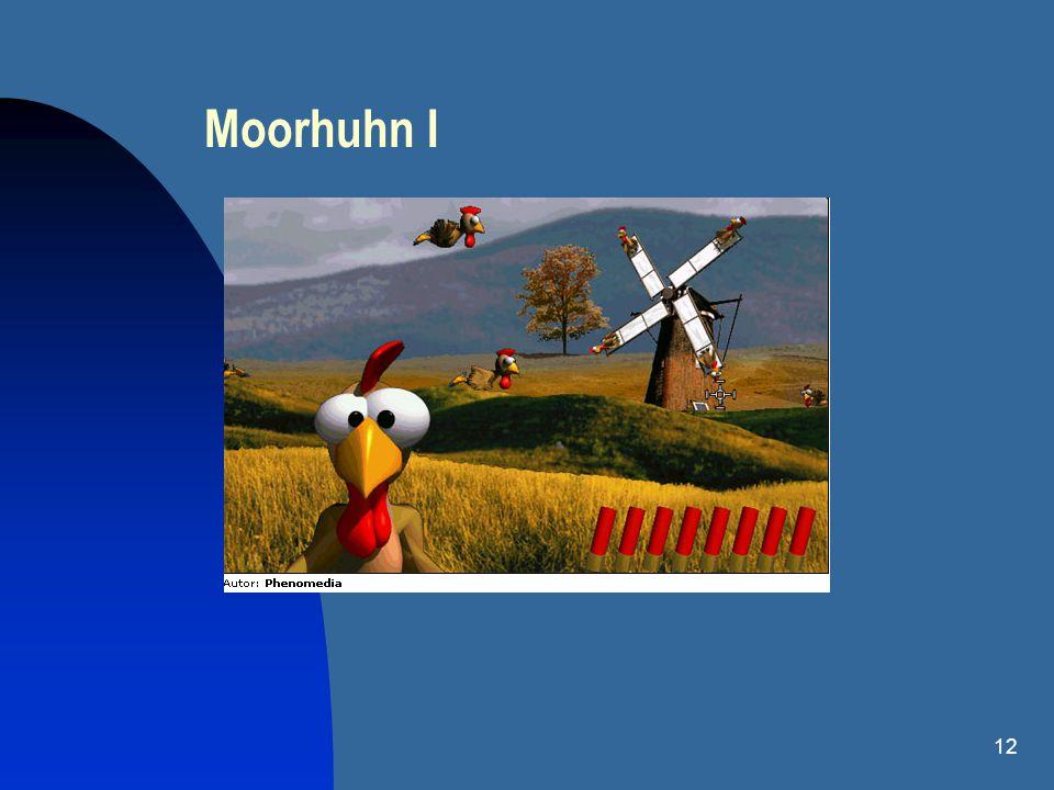 12 Moorhuhn I
