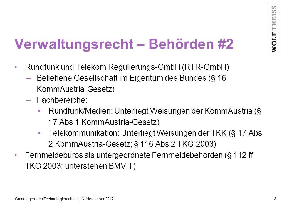 Grundlagen des Technologierechts I, 13.November 201229 Ist Netzneutralität wichtig.