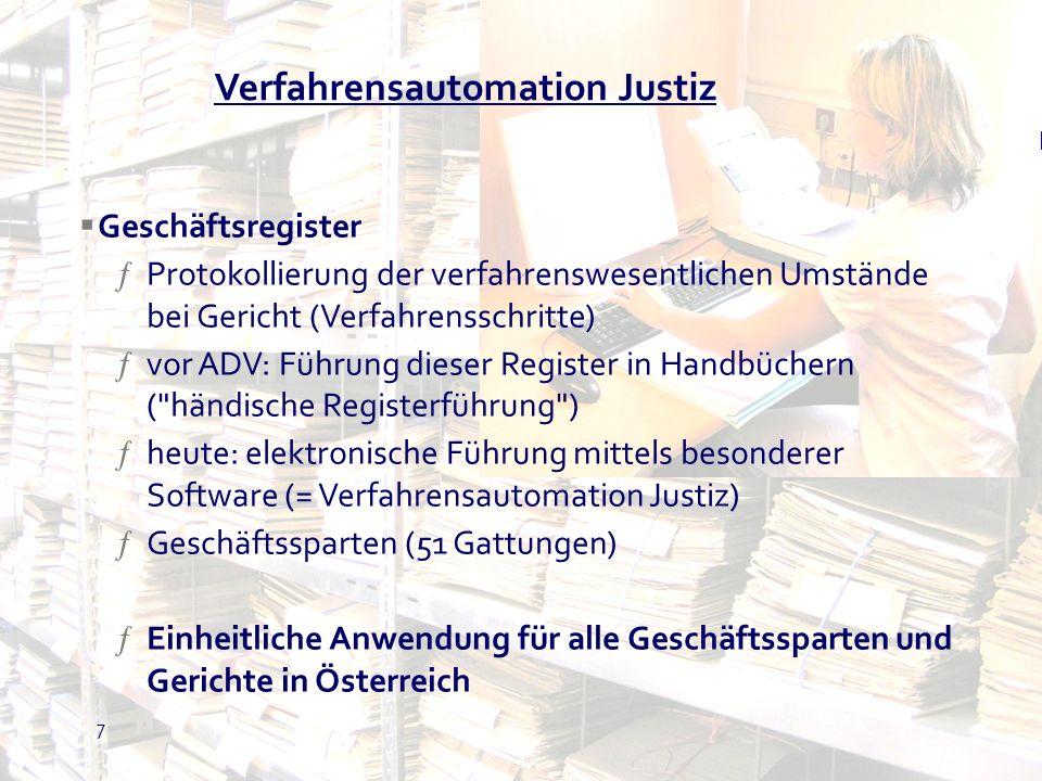 8 Funktionen und Schnittstellen Poststraße Register Namens- Abfrage Statistik Gebühren Sozial-Versich.
