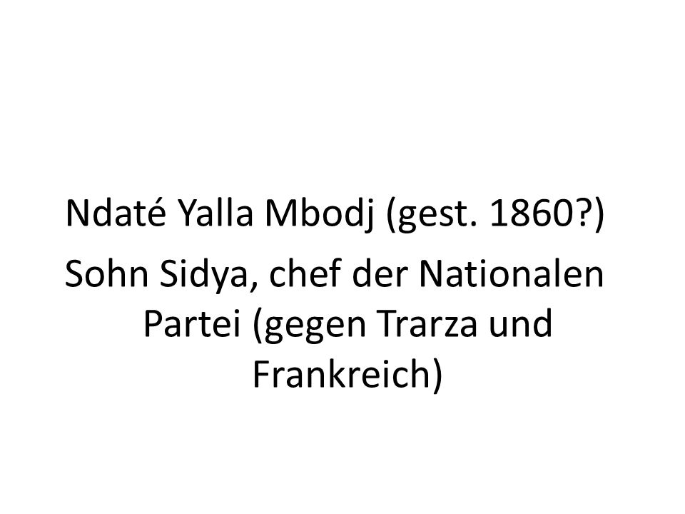 Ndaté Yalla Mbodj (gest.