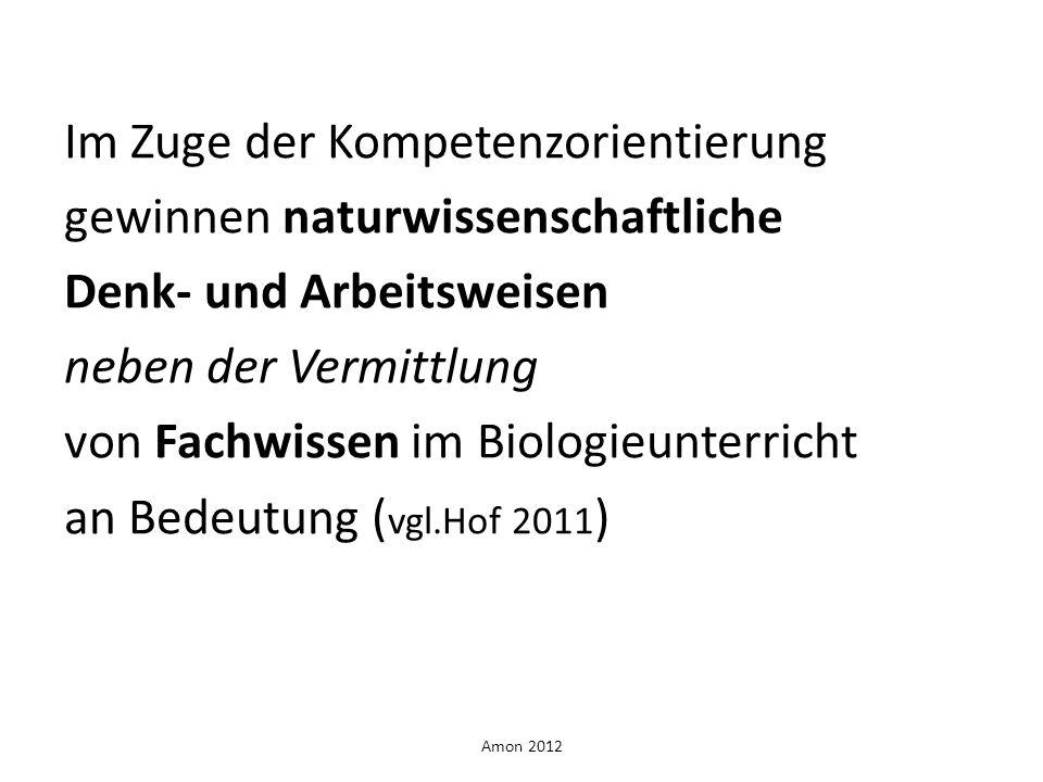 Amon 2012 Wie kann man beides fördern.
