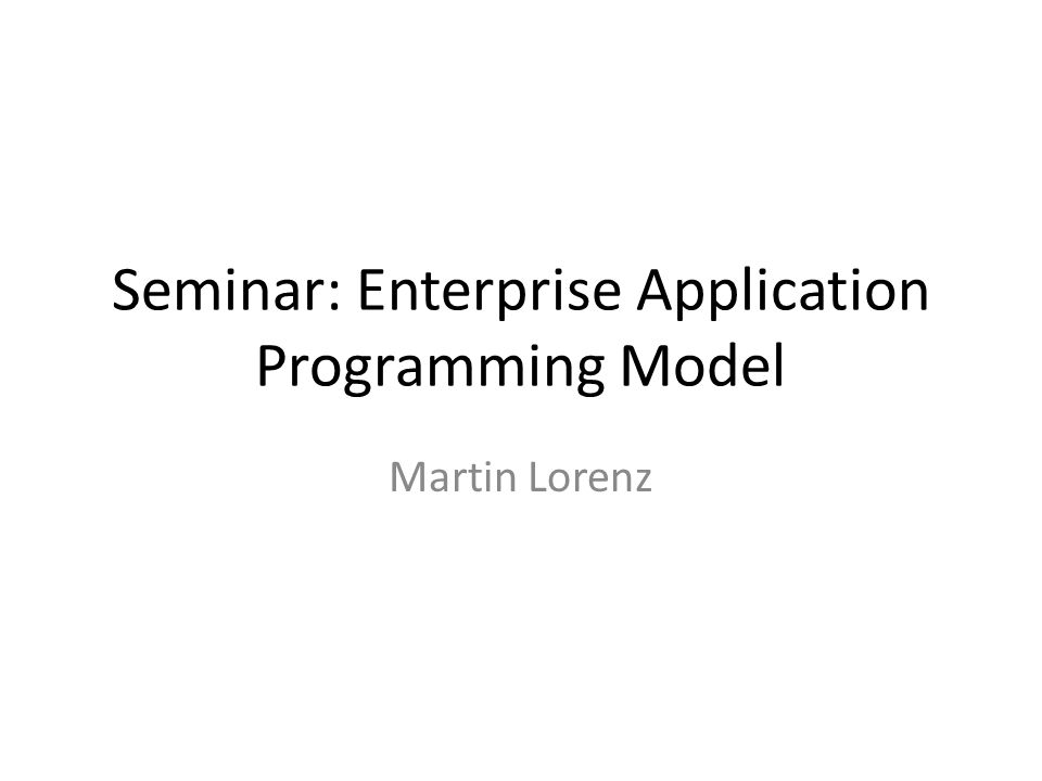 Programming Constructs Example: domain model for oo programming environment Order - Date - Due Date - Status -...