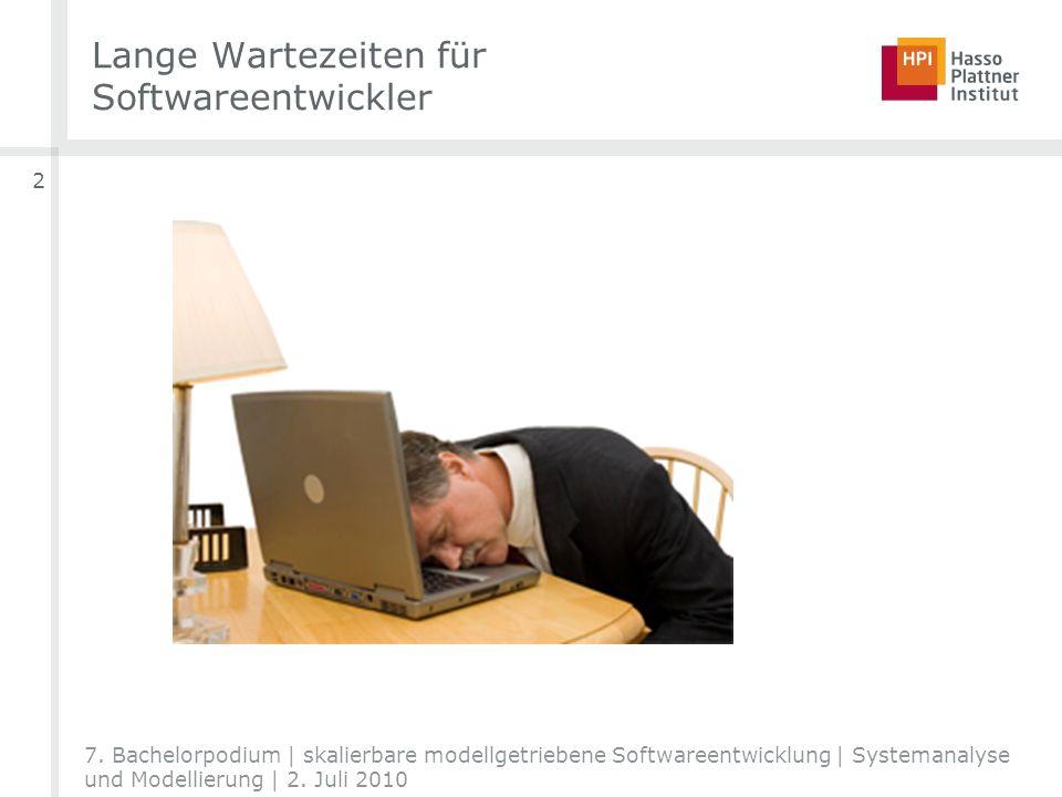 Lange Wartezeiten für Softwareentwickler 2 7.