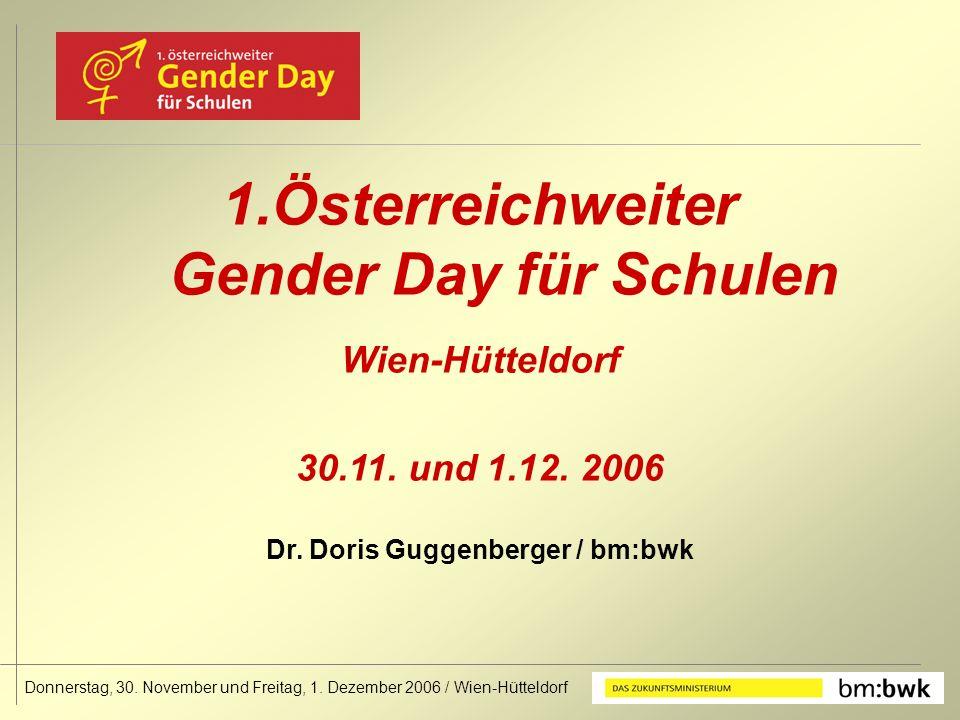 Donnerstag, 30. November und Freitag, 1. Dezember 2006 / Wien-Hütteldorf 1.