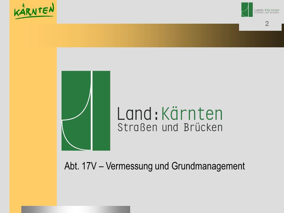 2 Abt. 17V – Vermessung und Grundmanagement