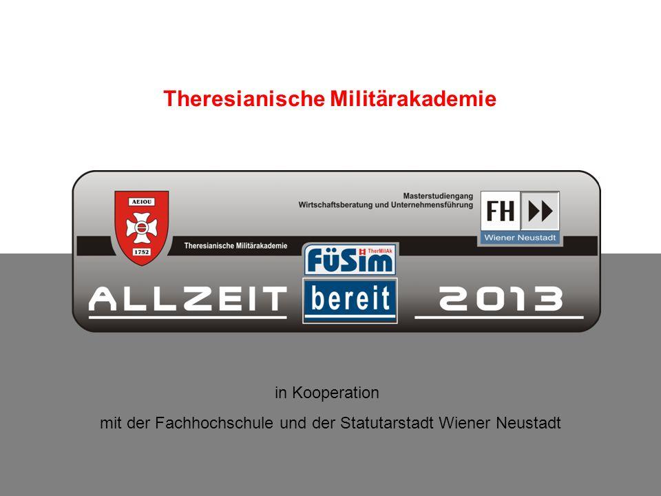 Theresianische Militärakademie / Entwicklungsabteilung - Führungssimulation 30.