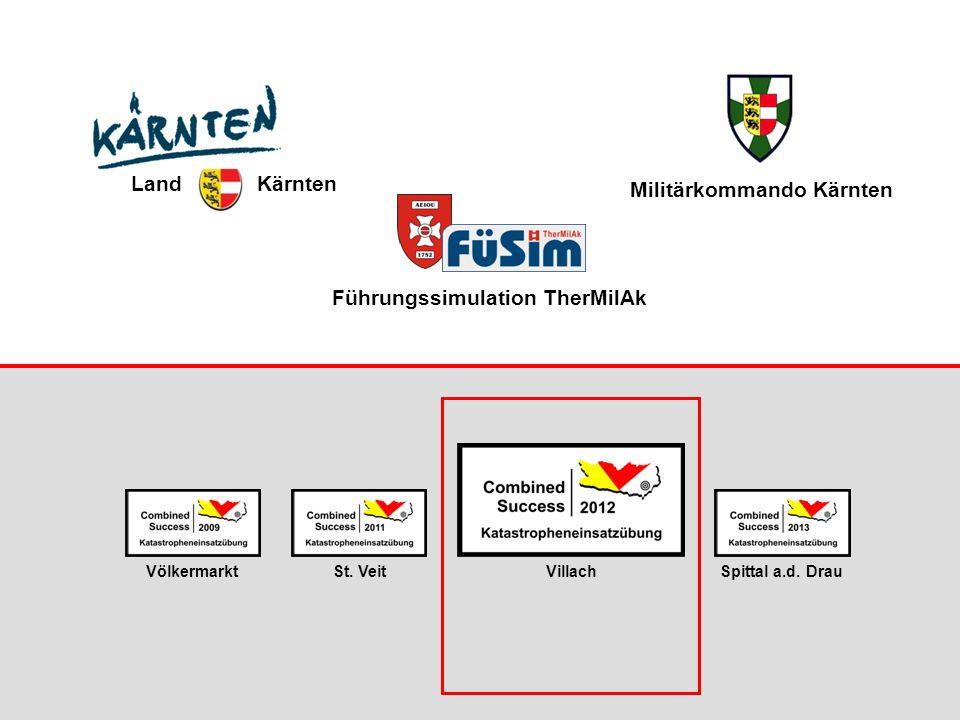 Führungssimulation TherMilAk St.VeitVölkermarktVillachSpittal a.d.