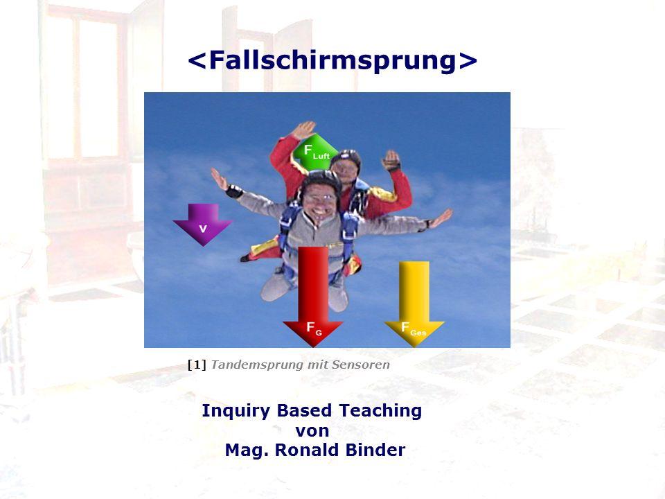 [1] Tandemsprung mit Sensoren Inquiry Based Teaching von Mag. Ronald Binder