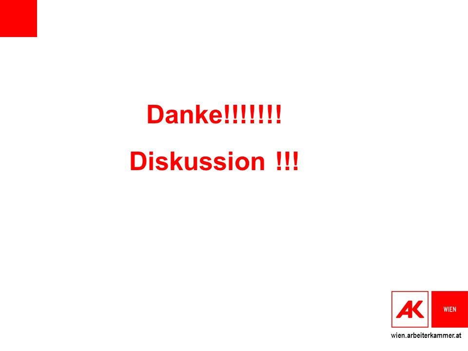 wien.arbeiterkammer.at Danke!!!!!!! Diskussion !!!