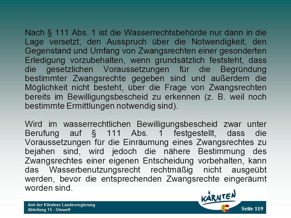 Seite 119 Nach § 111 Abs.
