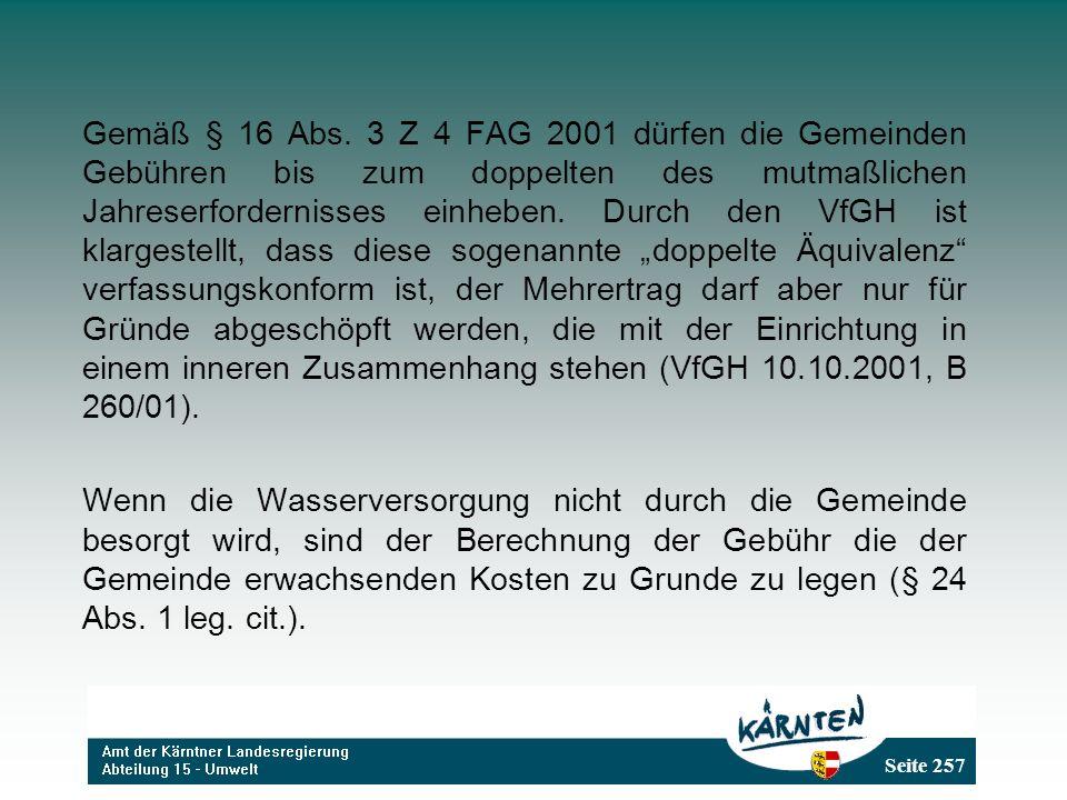 Seite 257 Gemäß § 16 Abs.