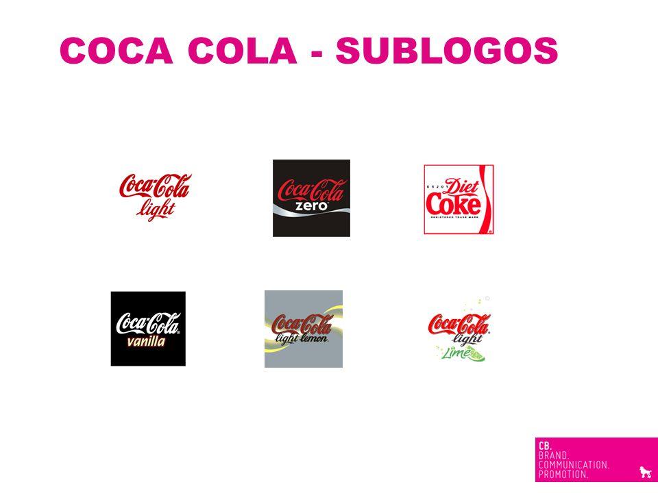 COCA COLA - SUBLOGOS