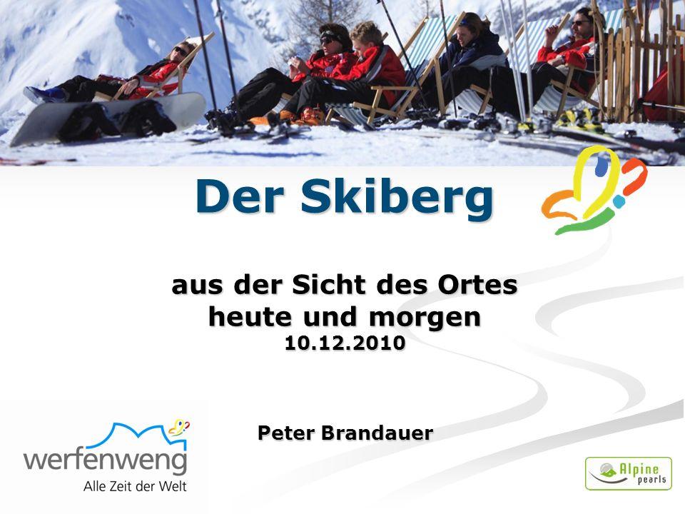 Der Skiberg aus der Sicht des Ortes heute und morgen 10.12.2010 Peter Brandauer