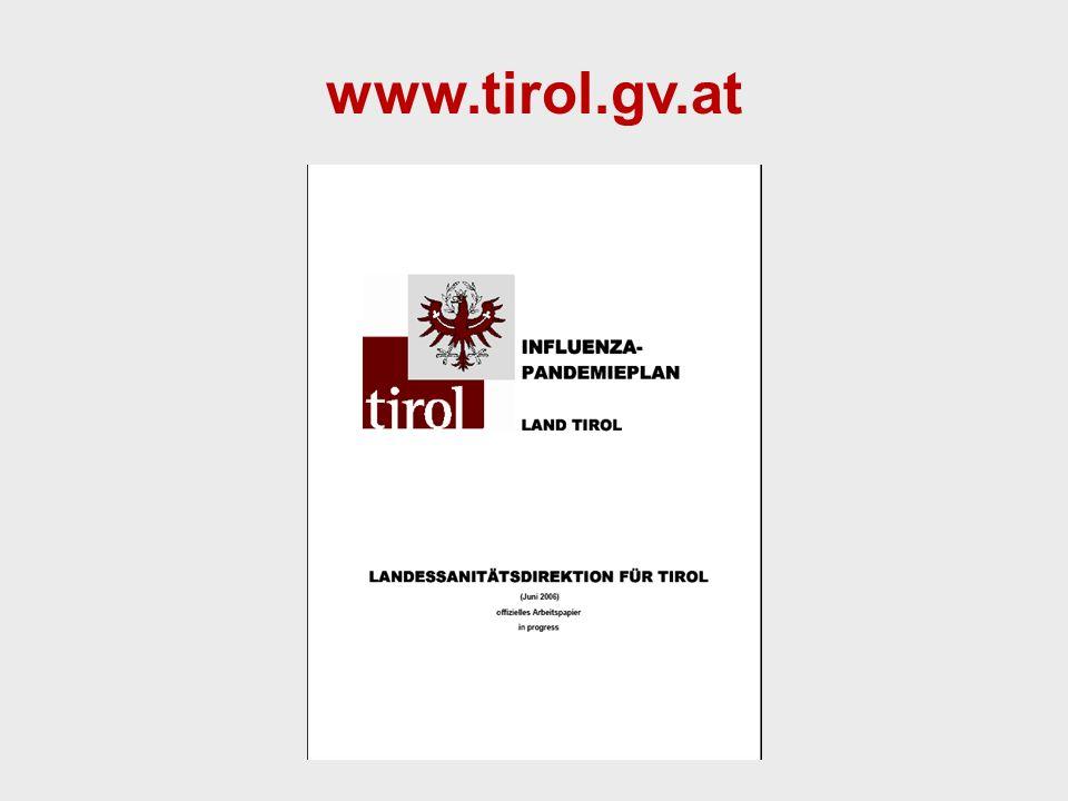 Landessanitätsdirektion für Tirol Mag. Dr. Anita Luckner-Hornischer www.tirol.gv.at