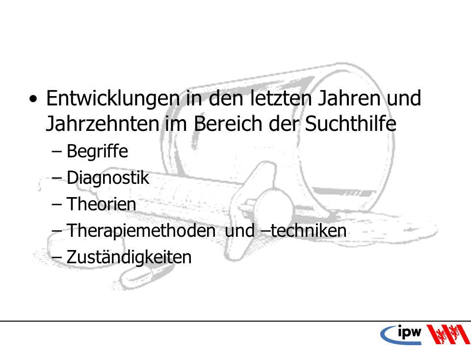 4 Begriffsklärungen Sucht: –Historischer Begriff, Lastermodell, Sucht = Siech ICD-10 –Akute Intoxikation –Schädlicher Gebrauch –Abhängigkeitssyndrom Würfelmodell der Eidg.
