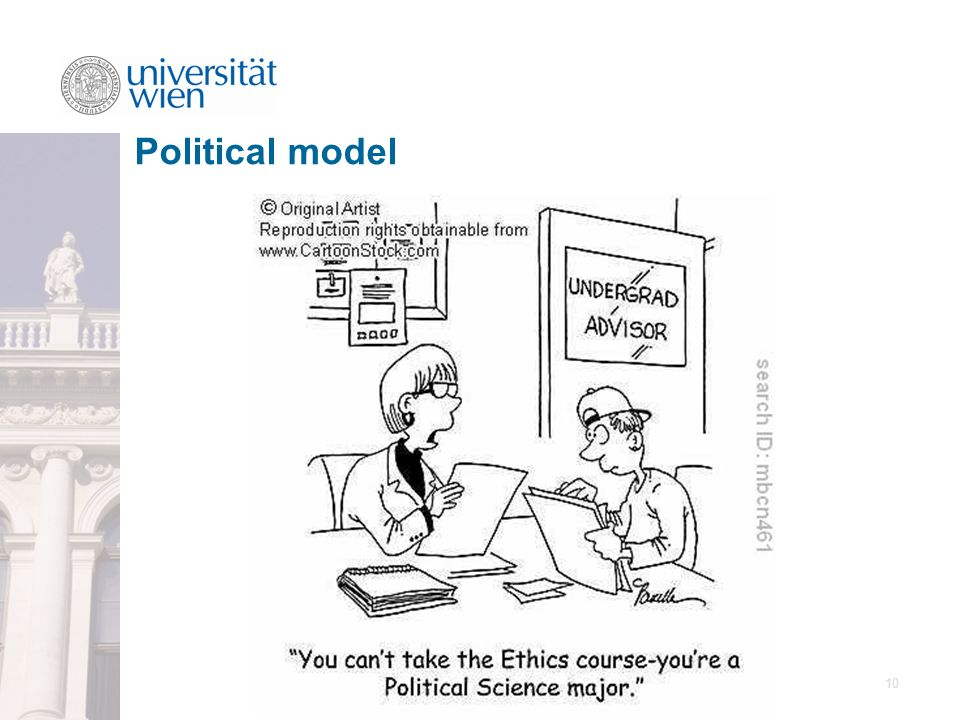 10 Political model