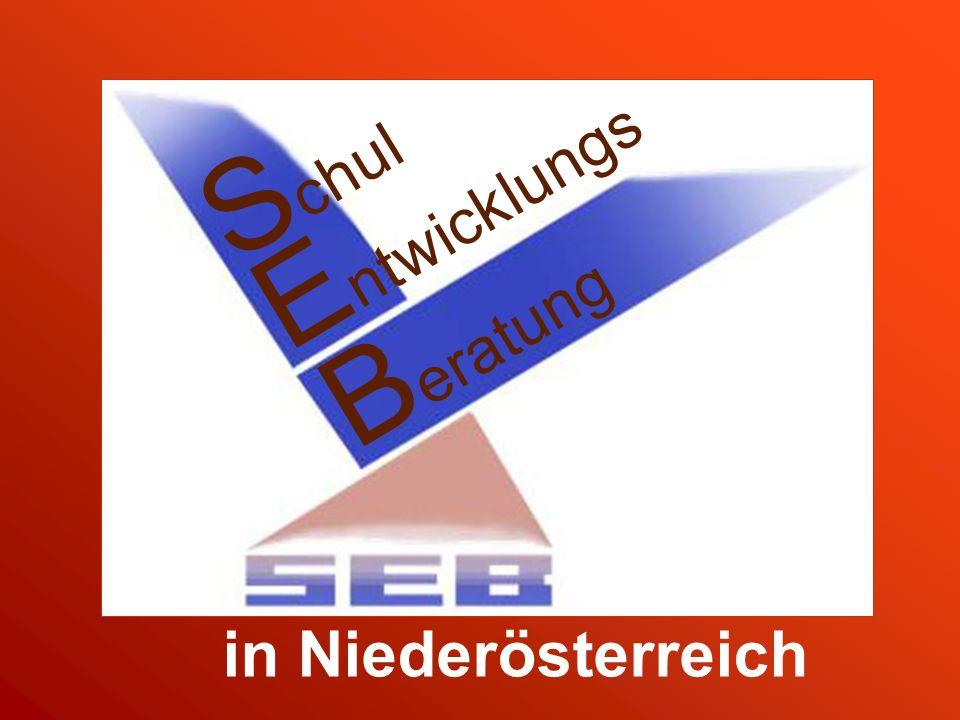 S chul E ntwicklungs B eratung in Niederösterreich