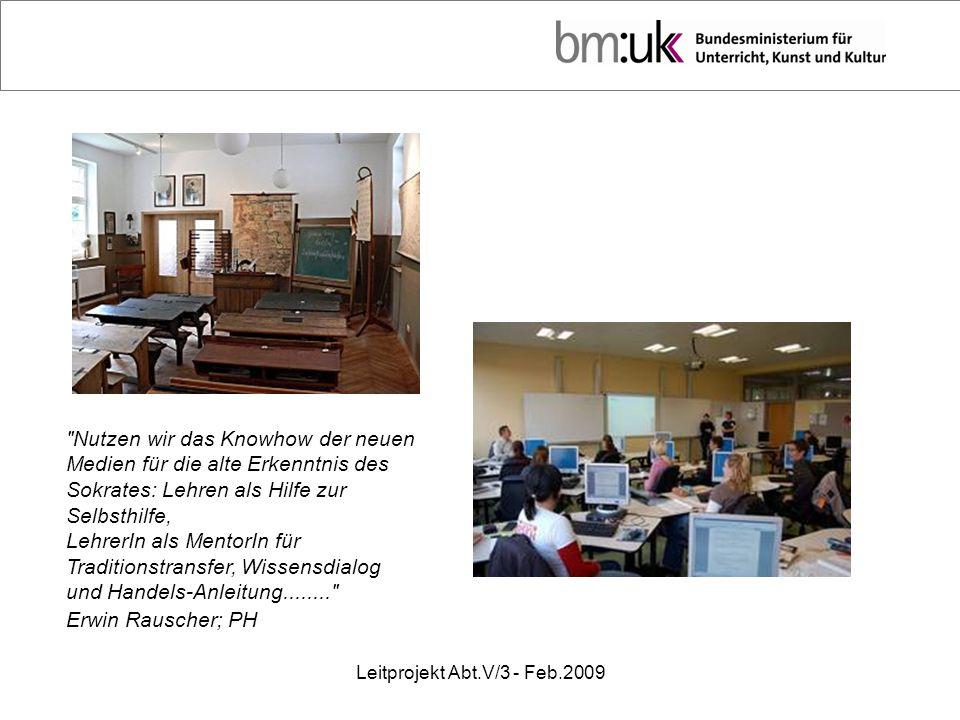 Leitprojekt Abt.V/3 - Feb.2009