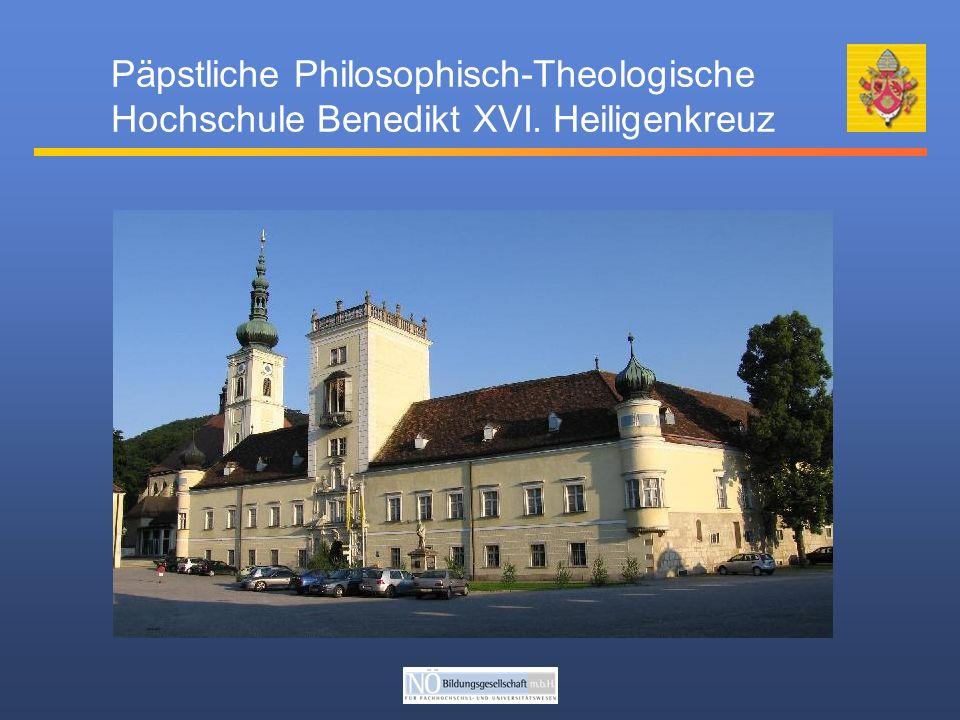 Päpstliche Philosophisch-Theologische Hochschule Benedikt XVI. Heiligenkreuz