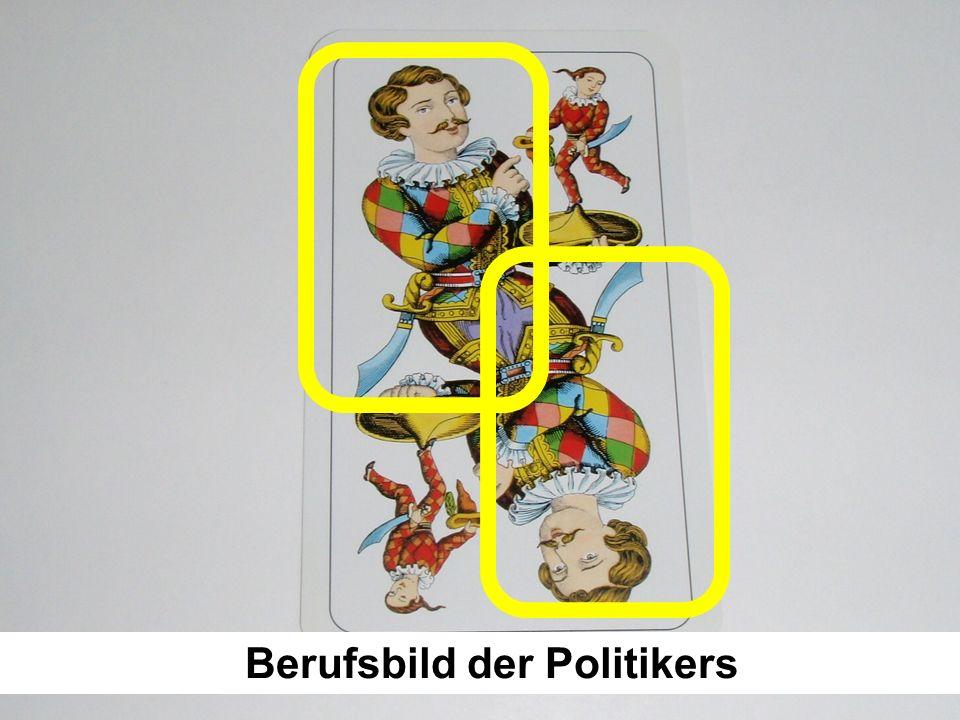 Berufsbild der Politikers