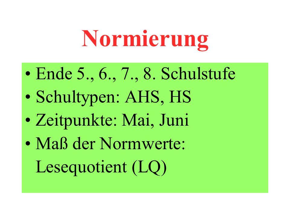 Normierung Ende 5., 6., 7., 8.