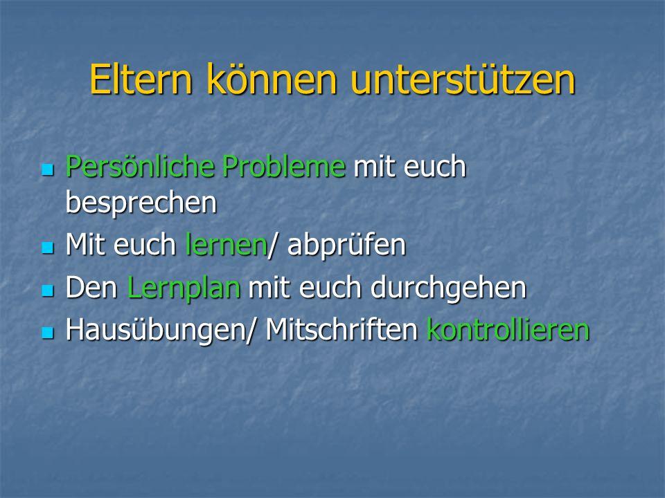 Lernstrategien / Arbeitsplatz Fixer Arbeitsplatz (ca.