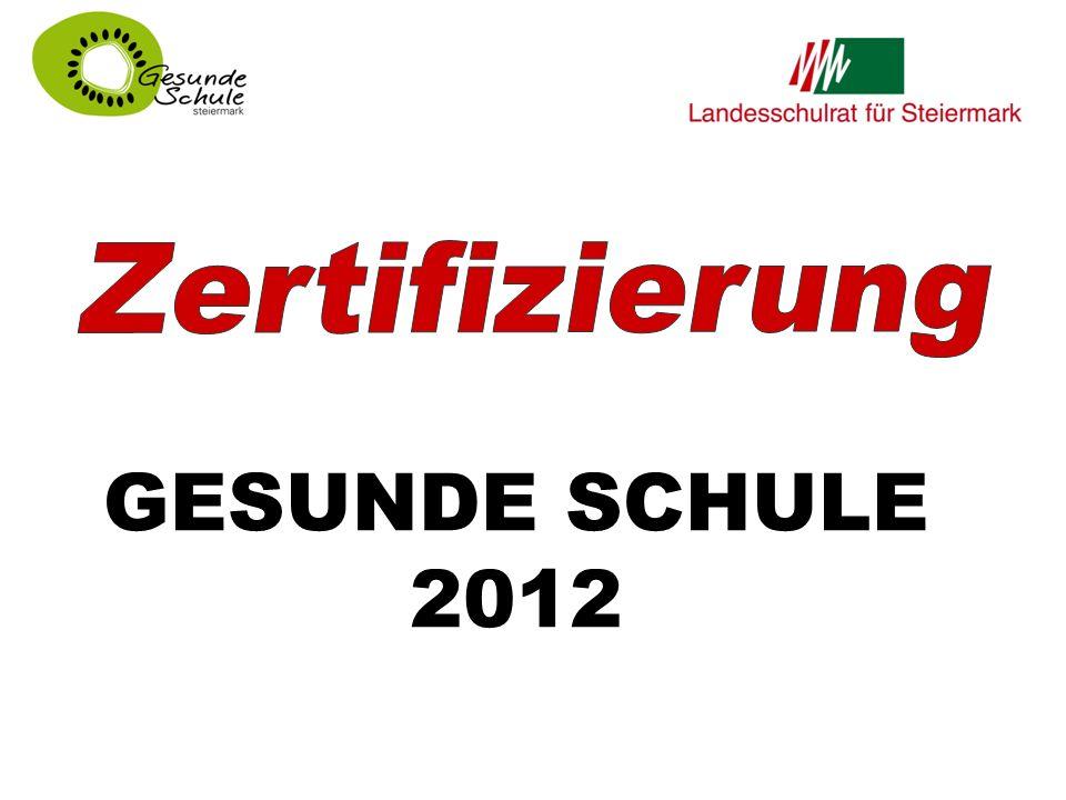 GESUNDE SCHULE 2012