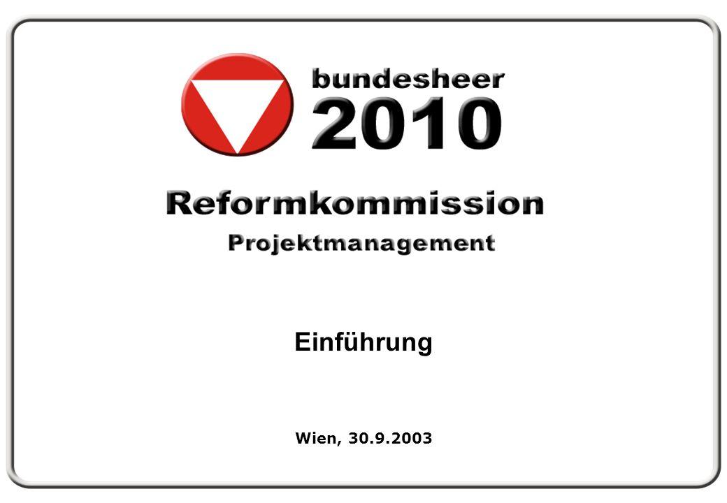 Folie 1 Einführung Wien, 30.9.2003