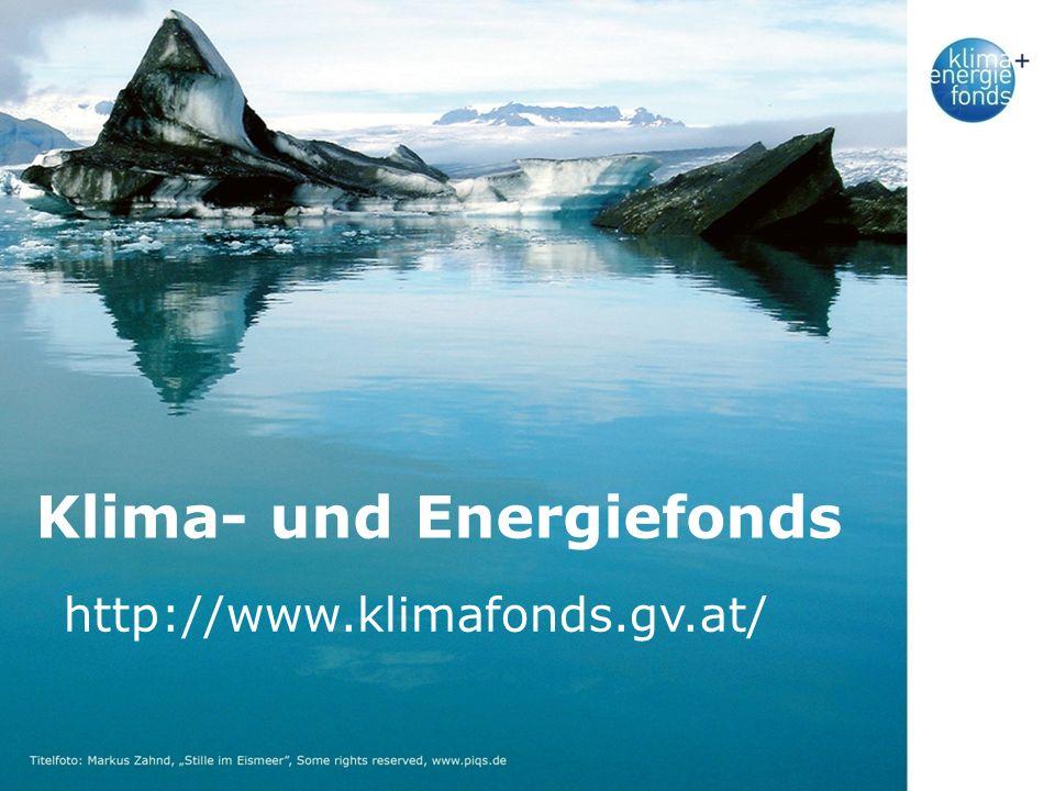 Klima- und Energiefonds http://www.klimafonds.gv.at/