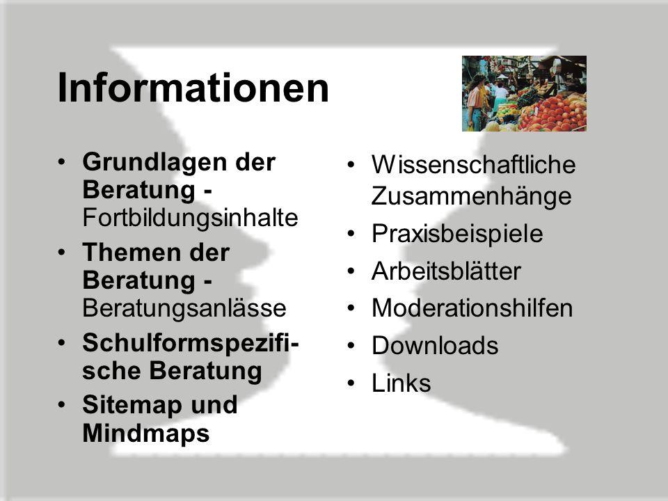 Emailberatung www.schulpsychologie.de Schülerinnen und Schüler Eltern Lehrerinnen und Lehrer Schulberatung in den Ländern