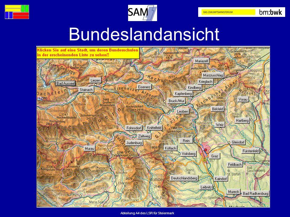 Abteilung A4 des LSR für Steiermark Bundeslandansicht