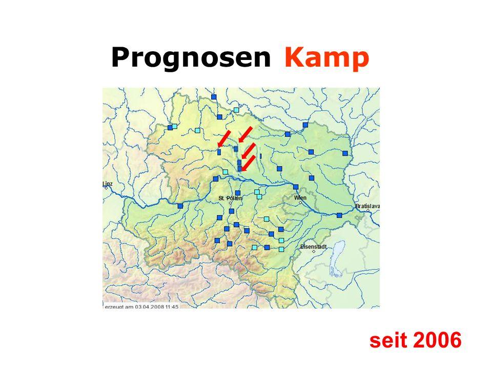 Prognosen Kamp seit 2006