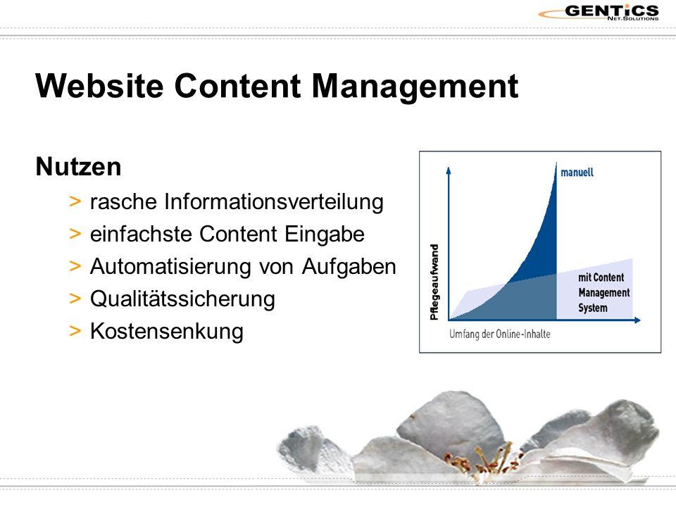 Website Content Management z.B.