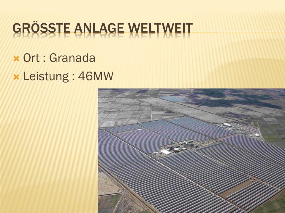 Ort : Granada Leistung : 46MW