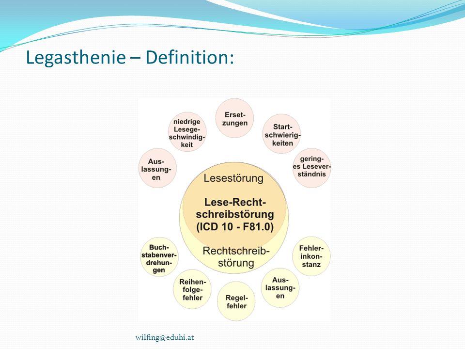 Legasthenie – Definition: wilfing@eduhi.at