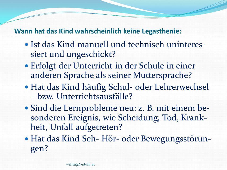 Legasthenie im Internet www.bmukk.gv.at/schulen/service/schulinfo/legasthenie.xml www.bmukk.gv.at/schulen/service/schulinfo/legasthenie.xml www.schulpsychologie.at/ www.cisonline.at www.cisonline.at www.schulpsychologie.at/legasthenie/legbl.htm www.legasthenie.at/ www.legasthenie.at/ www.kidsnet.at/deutsch/legasthenie.htm www.dieuniversitaet-online.at/dossiers/beitrag/news/legasthenie-lernen-mit- schwierigkeiten/83.html www.dieuniversitaet-online.at/dossiers/beitrag/news/legasthenie-lernen-mit- schwierigkeiten/83.html www.legasthenie-info.at/information.htm http://de.wikipedia.org/wiki/Legasthenie http://www2.lesefit.at/lehrer/artikel_volltextsuche_detail.php?id=79&query=L egasthenie&kat=fachbeitraege http://www2.lesefit.at/lehrer/artikel_volltextsuche_detail.php?id=79&query=L egasthenie&kat=fachbeitraege http://www.eduhi.at/index.php?url=themen&top_id=4362 www.edition-meixner.at wilfing@eduhi.at