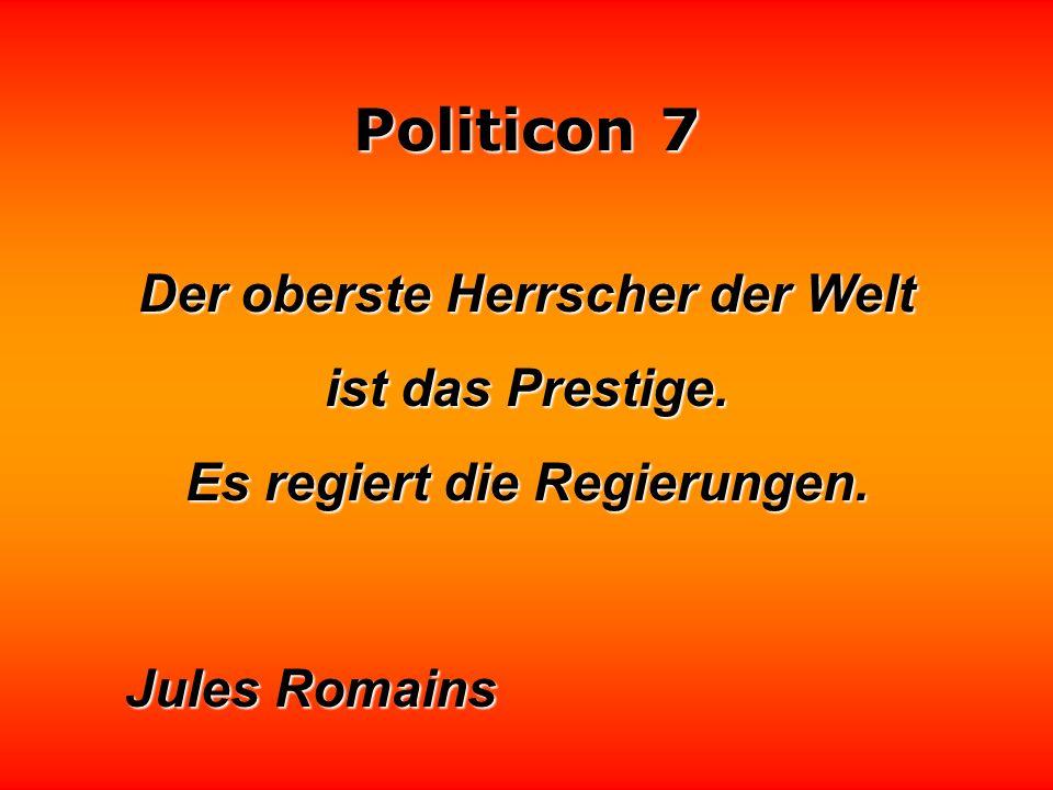 Politicon 7 In der Politik müßte gelten, was in der Medizin gilt: Wer nicht aufklärt, haftet.