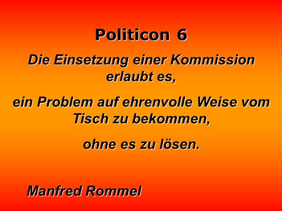 Politicon 6 Alle vier Jahre machen die Wähler ihr Kreuz. Und hinterher müssen sie's dann tragen. Birgit Berg