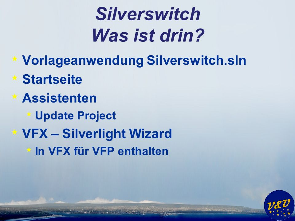 Silverswitch Was ist drin.
