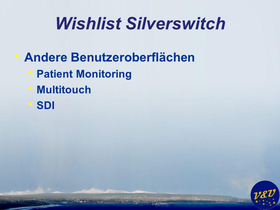 Vielen Dank und viel Spaß mit Silverswitch wünschen Venelina & Uwe
