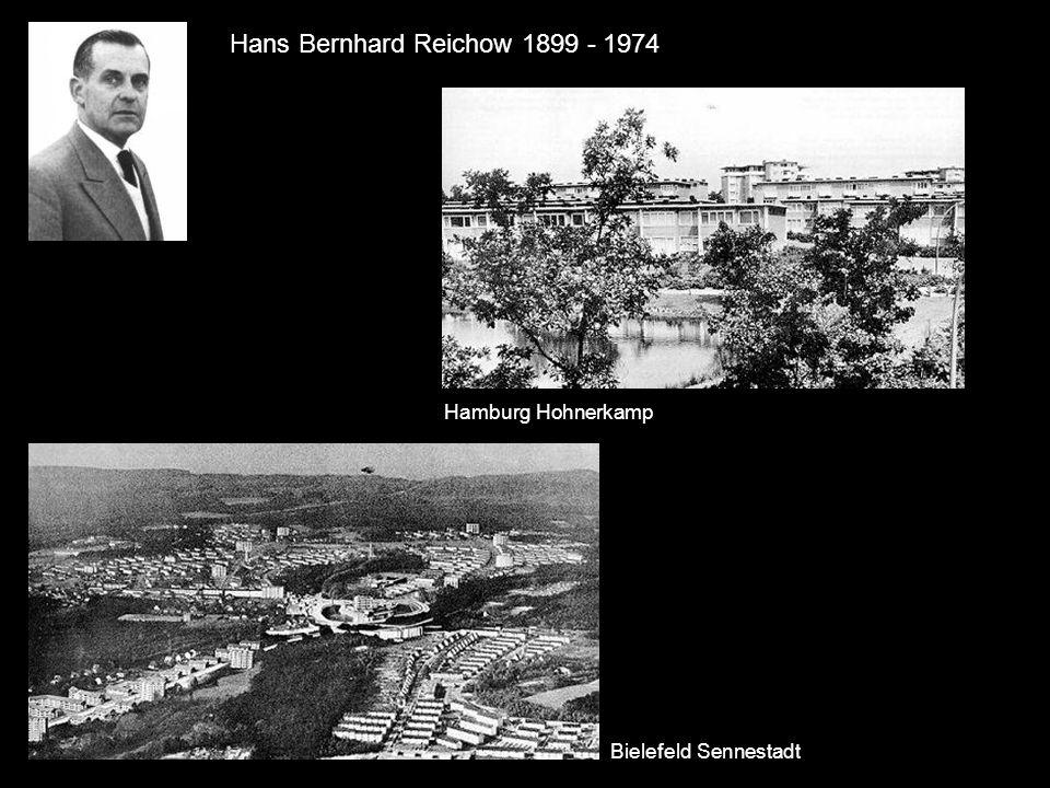 Hans Bernhard Reichow 1899 - 1974 Hamburg Hohnerkamp Bielefeld Sennestadt