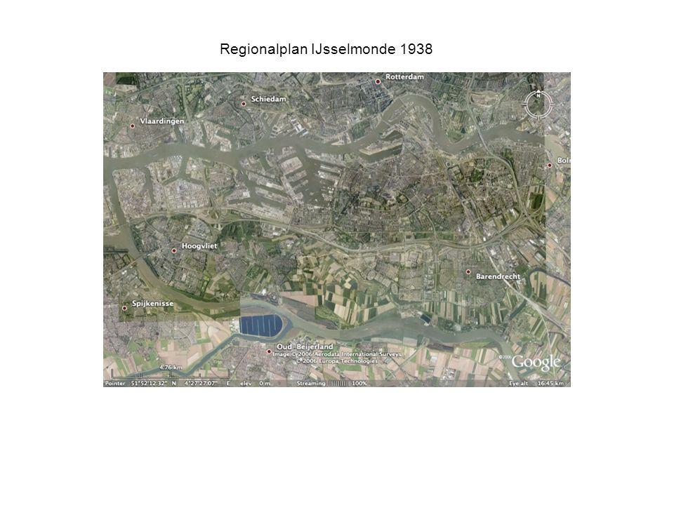 Regionalplan IJsselmonde 1938