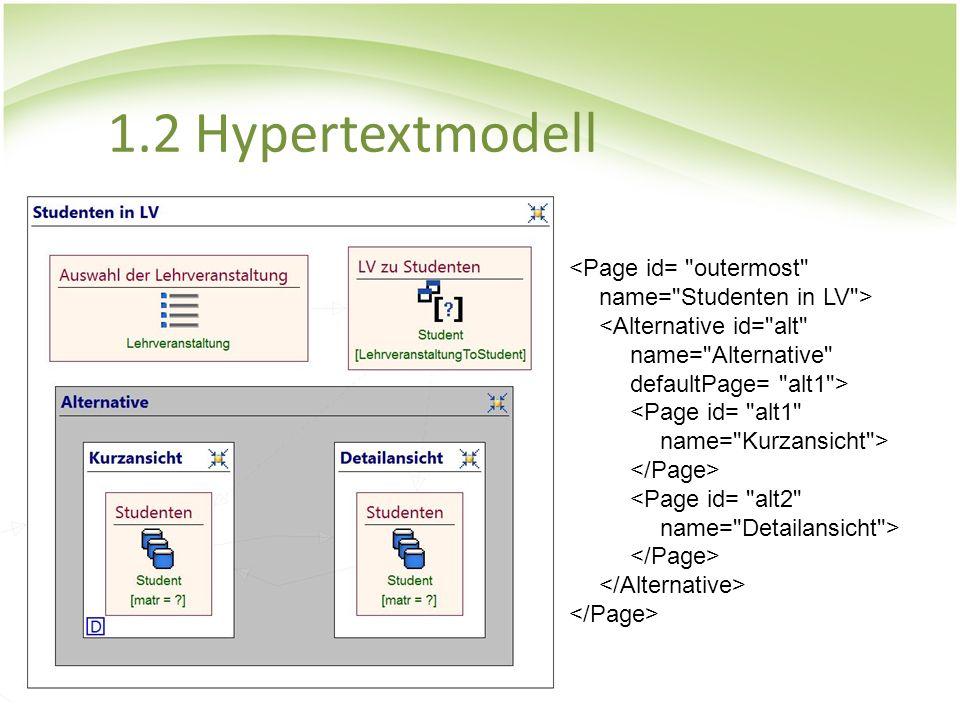 1.2 Hypertextmodell <Page id=