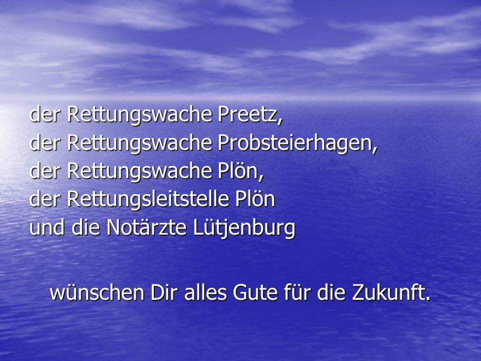 Deine Kollegen der Rettungswache Lütjenburg