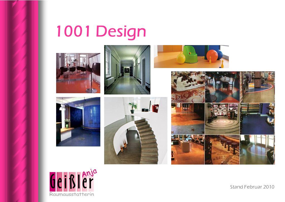 Stand Februar 2010 1001 Design