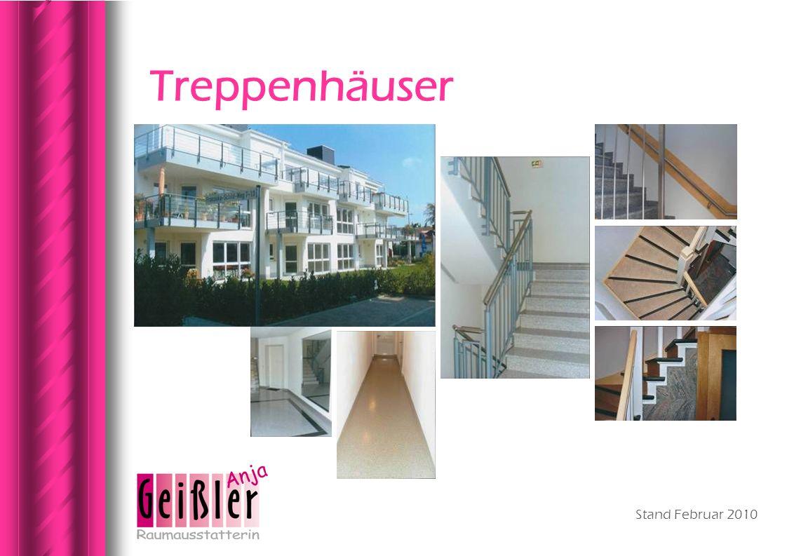 Stand Februar 2010 Treppenhäuser